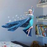 3D muursticker Frozen 'elsa'