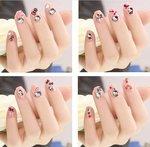 Hello Kitty kindernagel decoratiestickers