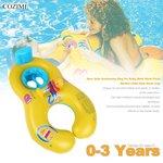 Baby seat zwemband ouder en kind