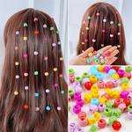 Mini haarklauwen/kralen voor vlechten/staartjes