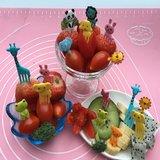 Fruitvorkjes voor peuters/kinderen 10stk