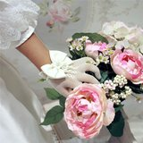 Handschoenen visnet bruidsmeisje/communie
