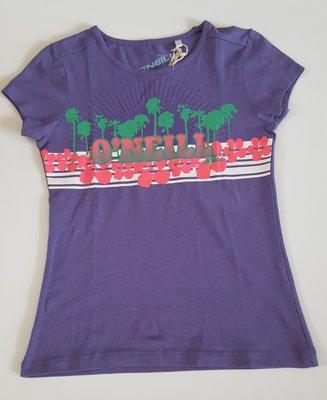 O'neill T-shirt paars mt. 152/158