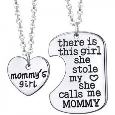 """Sieradenset  """"moeder en dochter"""""""
