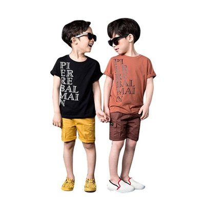 Kindershirt met tekst (balmain) mt.6
