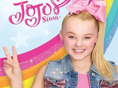 Nickelodeon Jojo siwa haarspeld met grote strik