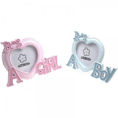 Soft Touch baby fotolijstjes girl/boy