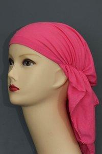 Elastische bandana roze