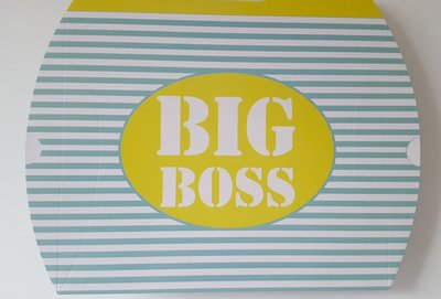 Baby cadeaudoos 'big boss'