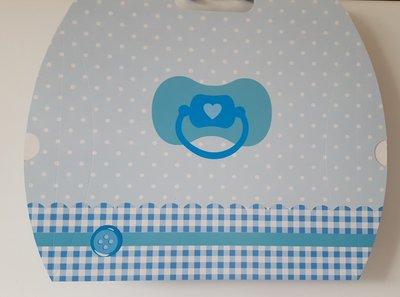 Baby cadeaudoos 'blauw'