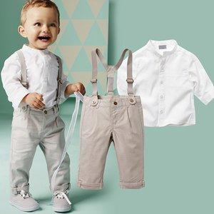Baby/peuterkostuum met bretels