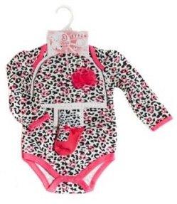Soft Touch romper kledingset tijgerprint