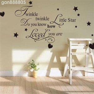 """Muursticker """"Twinkle twinkle ..."""""""