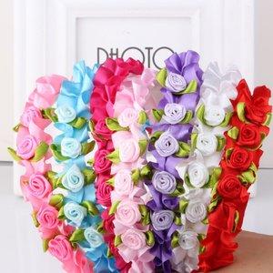 Kinderdiadeem/haarband met bloemetjes
