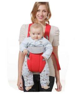 Babydraagzak ademend en multifunctioneel