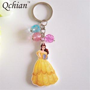 Prinses sleutelhanger met bedeltjes.
