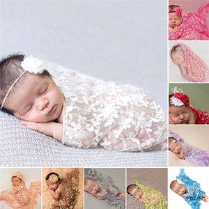 Kanten baby wraps/sjaal