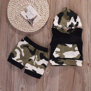 Peuterkleding set camouflage