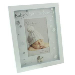 """Bambino fotolijst mdf """"baby's eerste kerst"""""""