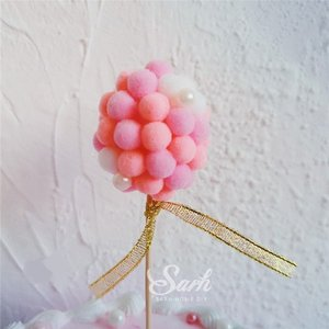 Verjaardagstaart/geboortetaart taartsteker softbal