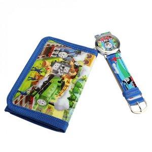 Kinderhorloge/portemonnee set Thomas de trein